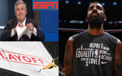 ESPN Current Layoffs Explains Media's Hostility Towards Kyrie Irving's Push Back During June Bubble