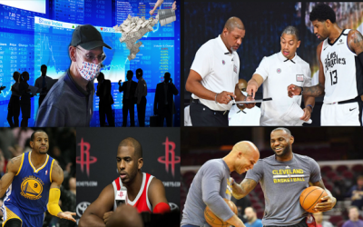 NBA Gets Financing From Private Market, PG13 Exposes Pacers, CP3 On Recruiting Andre Iguodala