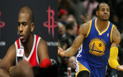 Chris Paul Admits The Importance Of Andre Iguodala Against Golden State He Tried To Recruit Him