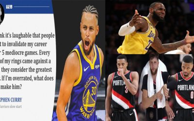 Stephen Curry Shades Lebron Apologists Then Drops 62 On Dame, Blazers Defense Still Questionable