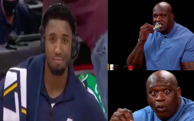 Donovan Mitchell & The Utah Jazz Are Taking Shaq Up On His Challenge On Leveling Up
