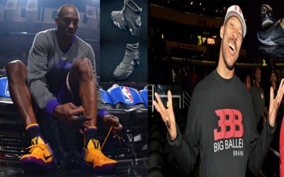Kobe Was On The Same Path Lavar Ball Wanted To Go In With Starting His Own Brand Outside Of Nike