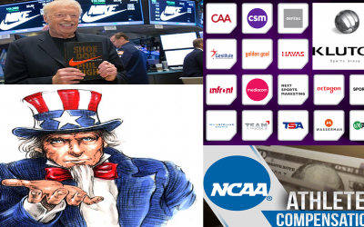 The Winners Of The NCAA Student Athlete Monetization, Sportswear Companies Sports Agencies & Government